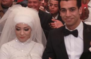 زوجة اللاعب محمد صلاح