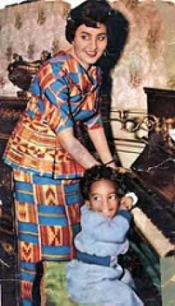 زوجة الرئيس الغاني