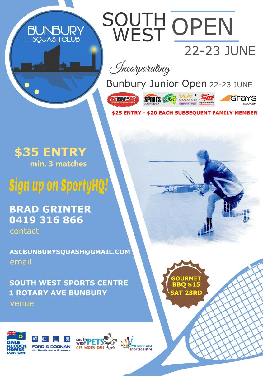 South West Open & Junior Tournament
