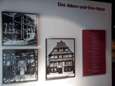 Das Adam-und-Eva-Haus früher