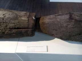 Verbindung alte Holzleitung der Wasserkunst