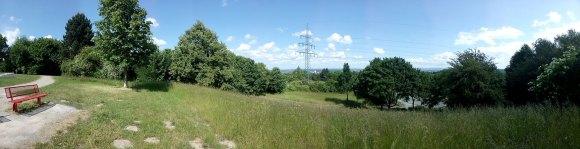 Monte: Panorama Richtung Südstadt