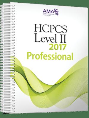2017 AMA HCPCS Level 2 Professional Code Book