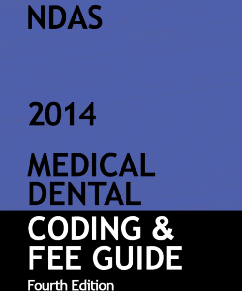 NDAS Medical Dental Coding & Fee Guide 2014