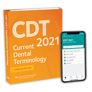 CDT 2021: Current Dental Terminology Book and E-Book