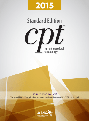 CPT® 2015 Standard Edition