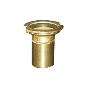 Flachkupplungsunterteil mit Ventil und Innengewinde