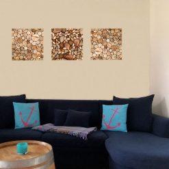 Beispiel Holzbilder Wohnzimmer