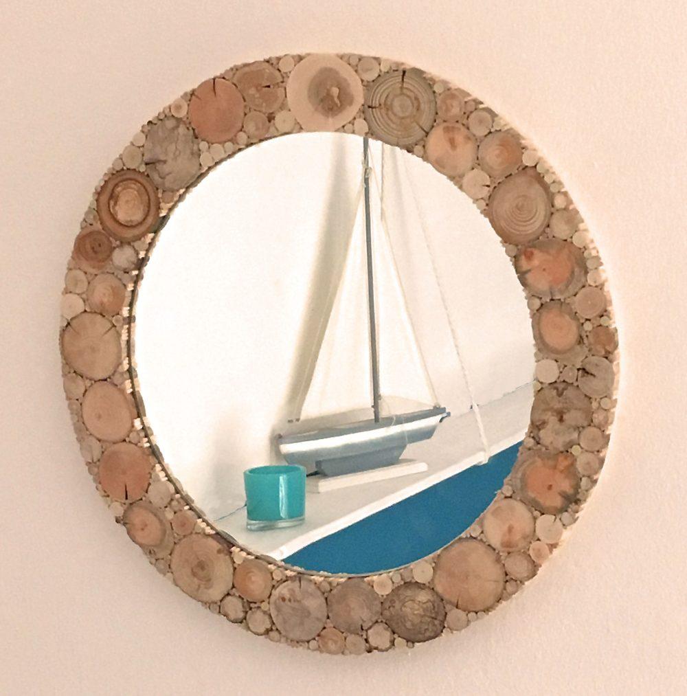 Spiegel Treibholz - Holzdekoration - WASSER und KUNST