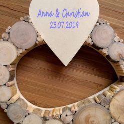 Hochzeitsgeschenk Unendlichkeitszeichen