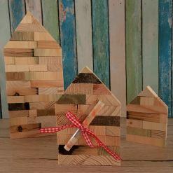 Geldgeschenk Hausbau - Holzhaus