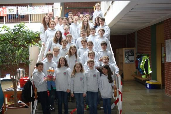 Wasserwacht Jugend  OG Berg beim Kreiswettbewerb 2015