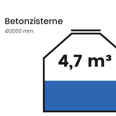 Betonzisterne-4700l