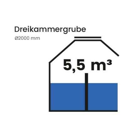 Dreikammergrube-5500l
