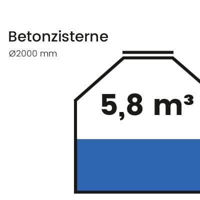 Betonzisterne-5800l