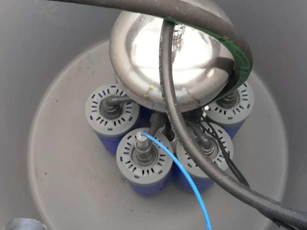 Technik für Trinkwasseraufbereitung