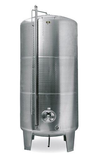 Edelstahlbehälter-Großtank-geschlossen