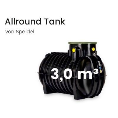 Speidel-Kunststofftank-3000l