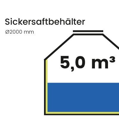 Sickersaftbehälter-5000l
