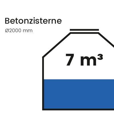 Betonzisterne-7000l