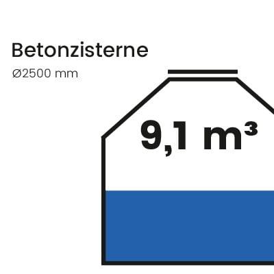Betonzisterne-9100l