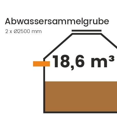 Abwassersammelgrube-18600l