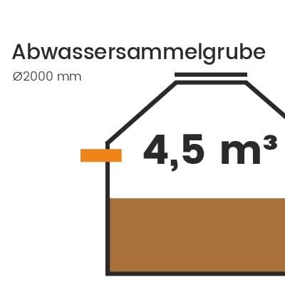 Abwassersammelgrube-4500l