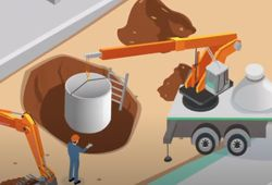 Versetzen-Zisterne-in-Baugrube