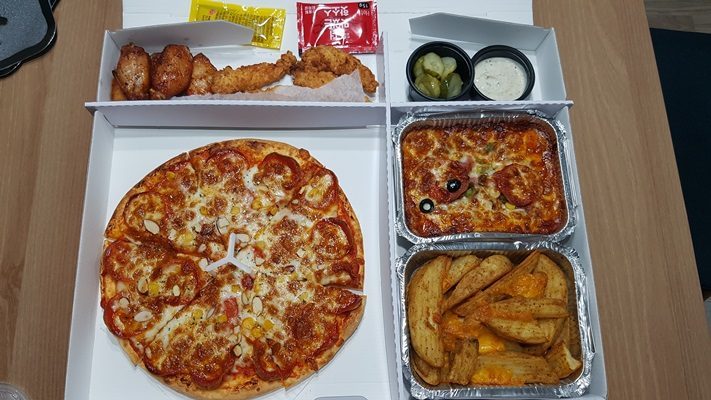 What if want Pizza & Chicken Set at the same time ???
