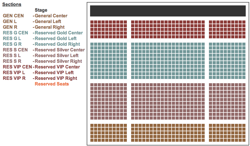 Seating Chart, NPC WA State Open bodybuilding Figure fitness Bikini Physique