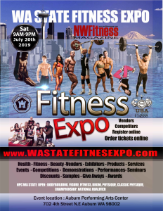 2018 WA State Fitness Expo