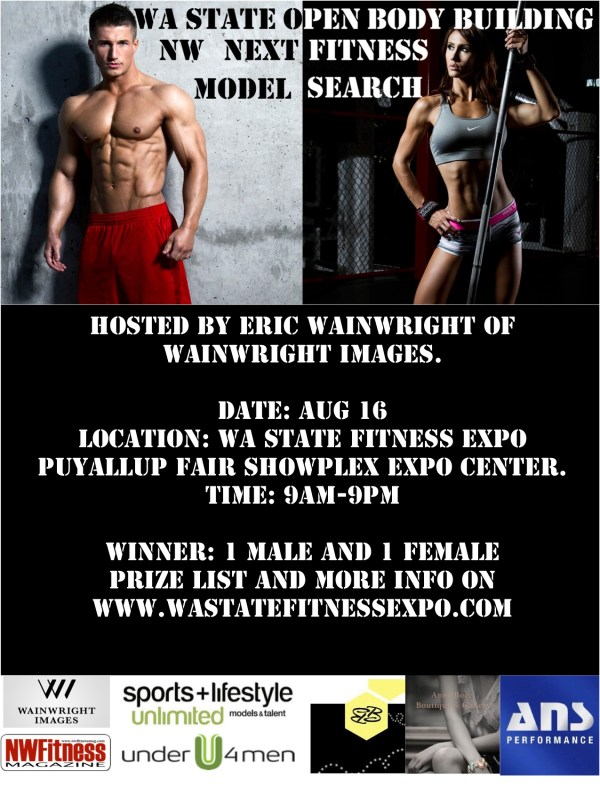 Fitness Model Search Hosted by Photographer Eric Wainwright