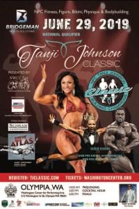 Tanji Johnson Classic Fitness Expo