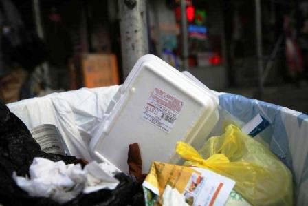 Recycling Polystyrene Foam