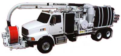 Sewers Image - Camel Sewer Truck