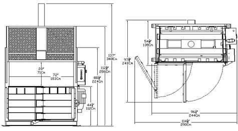 Standard 72 Inch Vertical Baler