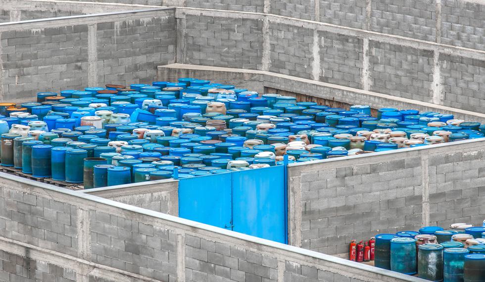 Construcción Centros de Acopio de Residuos Peligrosos