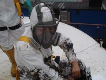 limpieza tanques combustible por wastech