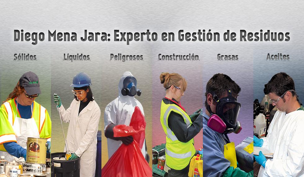 Diego Mena Jara: Experto en Gestión de Residuos