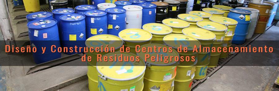 Centros Almacenamiento Residuos Peligrosos