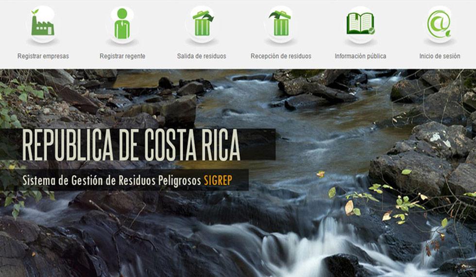 Informe SIGREP: Gestión de Residuos Peligrosos