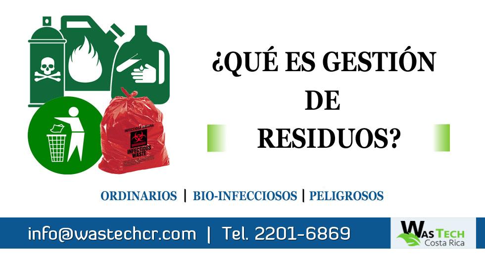 ¿Qué es Gestión de Residuos?