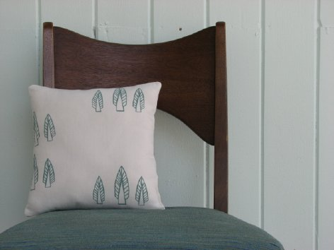Trees - Hand drawn, screen printed and sewn by Chakra Pennywhistle