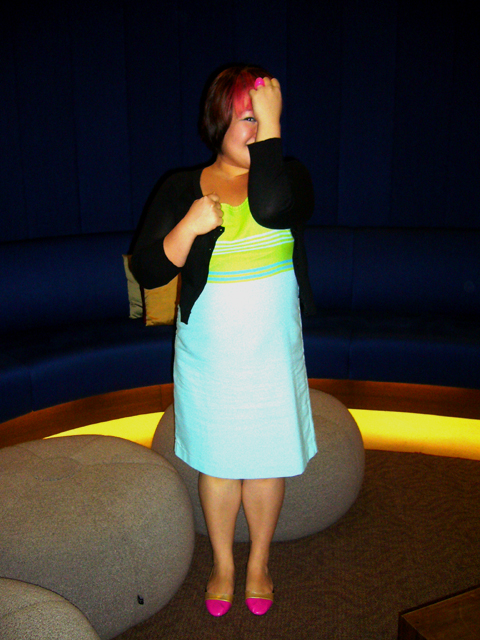I may be brightly coloured but I am really shy