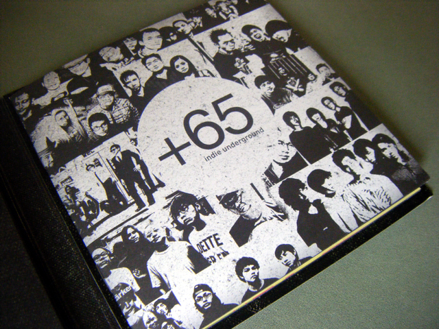 +65 indie underground - Liner Notes close-up