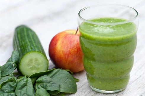 CUCUMBER: Green smoothie