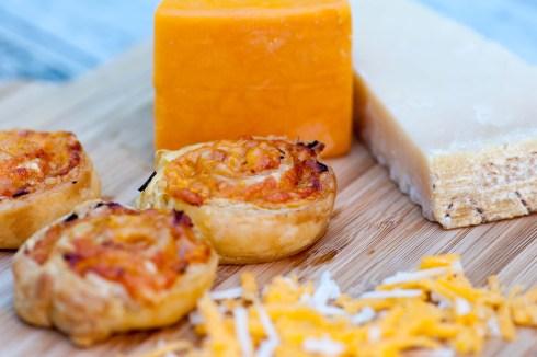 HAM: Ham and cheese swirls