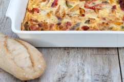 BREAD: Three-pepper strata