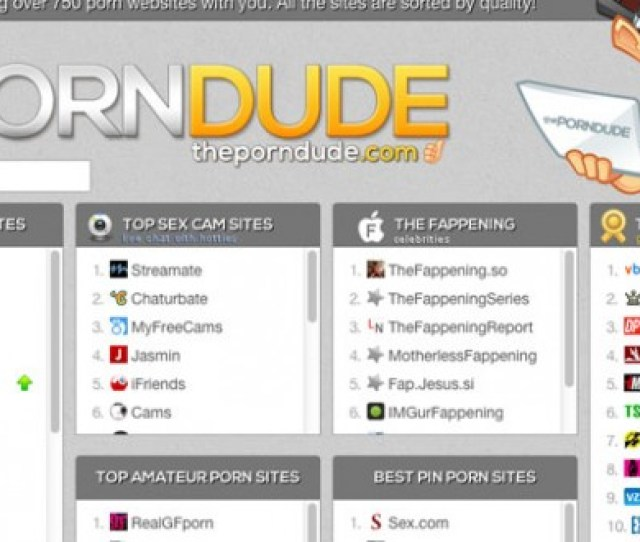 Review The Porn Dude Lists The Best Porn Sites