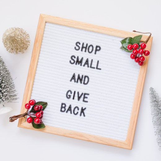 Shop Small and Give Back- A Holiday Gift Guide